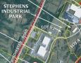Stephens Industrial Park Aerial Map