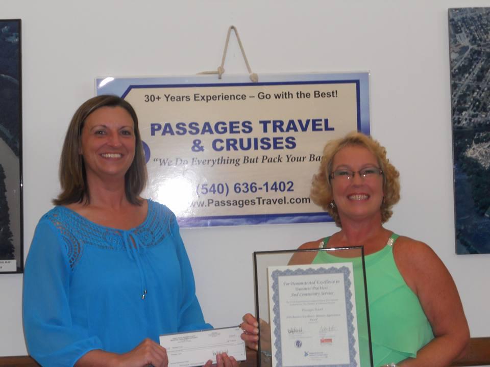 Maria Dutton, Passages Travel winner 2016